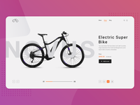 Electric Bike Web Design