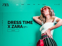 Redesign Zara Homepage