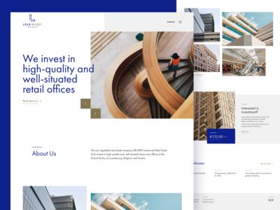 Leasinvest — Homepage