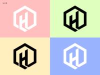 Left or Right? Personal Brandmark (L+H)