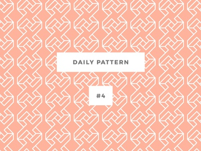 Daily Pattern #4 pattern patterns challenge daily onepatternoneday geometric vector seamless texture ornament background