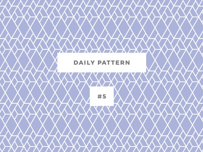 Daily Pattern #5 background ornament texture seamless vector geometric onepatternoneday daily challenge patterns pattern
