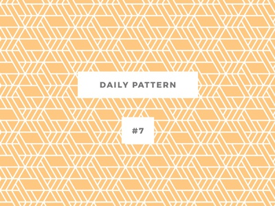 Daily Pattern #7 background ornament texture seamless vector geometric onepatternoneday daily challenge patterns pattern