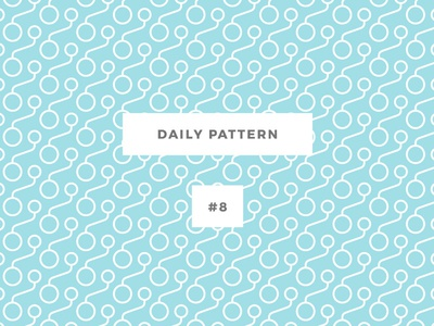 Daily Pattern #8 pattern patterns challenge daily onepatternoneday geometric vector seamless texture ornament background