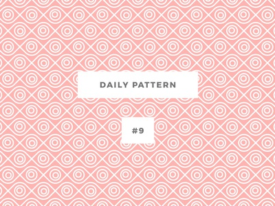 Daily Pattern #9 background ornament texture seamless vector geometric onepatternoneday daily challenge eye pattern