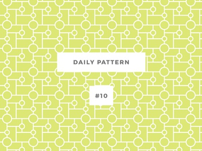 Daily Pattern #10 pattern eye challenge daily onepatternoneday geometric vector seamless texture ornament background