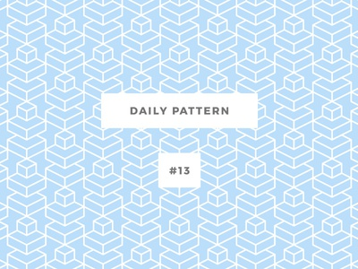Daily Pattern #13 background ornament texture vector geometric onepatternoneday daily challenge pattern