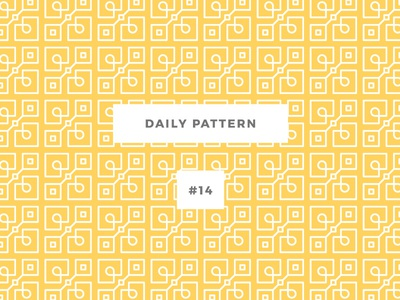 Daily Pattern #14 pattern challenge daily onepatternoneday geometric vector texture ornament background