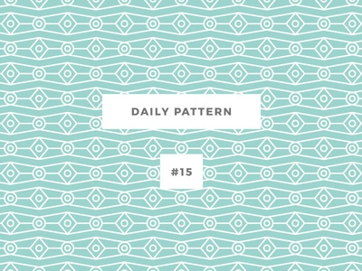 Daily Pattern #15 background ornament texture vector geometric onepatternoneday daily challenge pattern