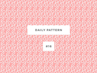 Daily Pattern #16 pattern challenge daily onepatternoneday geometric vector cherry texture ornament background