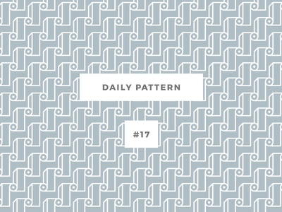 Daily Pattern #17 background ornament texture vector geometric onepatternoneday daily challenge pattern