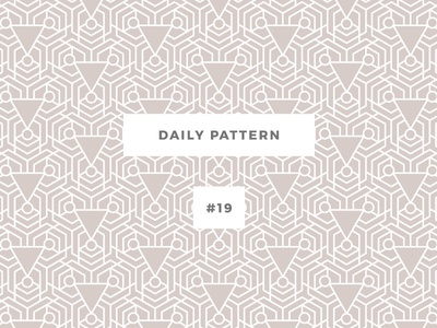 Daily Pattern #19 background ornament disco texture vector geometric onepatternoneday daily challenge pattern