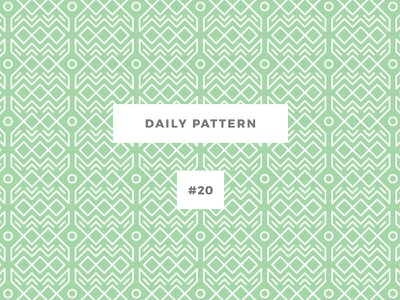 Daily Pattern #20 pattern challenge daily onepatternoneday geometric vector texture disco ornament background