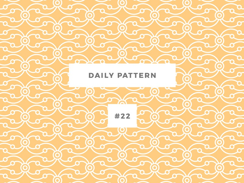 Daily Pattern #22 pattern challenge daily onepatternoneday geometric vector texture ornament background