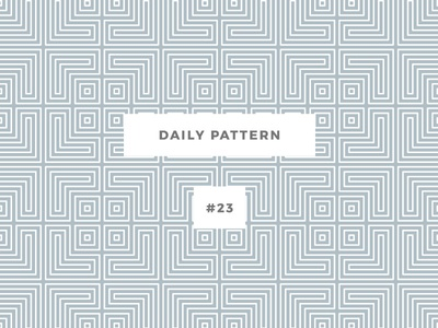 Daily Pattern #23 background ornament texture vector geometric onepatternoneday daily challenge pattern