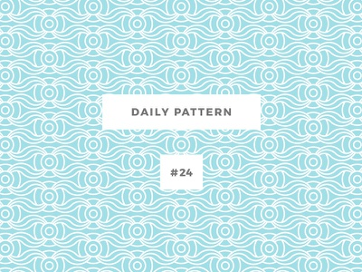 Daily Pattern #24 pattern challenge daily onepatternoneday geometric vector texture ornament background