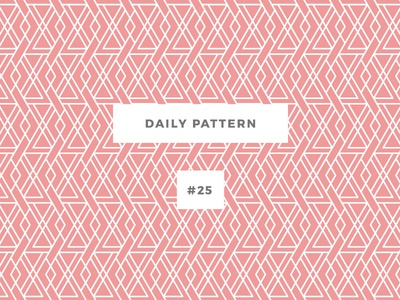 Daily Pattern #25 background ornament texture vector geometric onepatternoneday daily challenge pattern