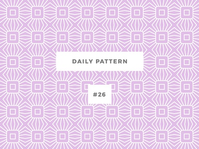 Daily Pattern #26 pattern challenge daily onepatternoneday geometric vector texture ornament background