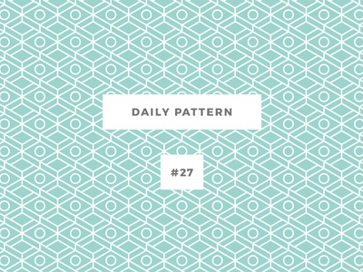 Daily Pattern #27 background ornament texture vector geometric onepatternoneday daily challenge pattern