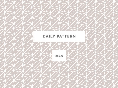 Daily Pattern #28 pattern challenge daily onepatternoneday geometric vector texture ornament background