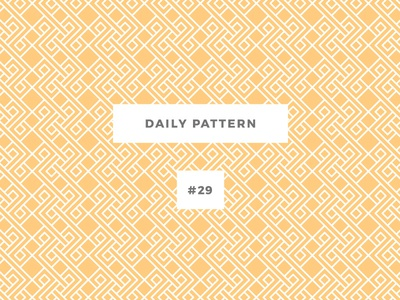Daily Pattern #29 background ornament texture vector geometric onepatternoneday daily challenge pattern