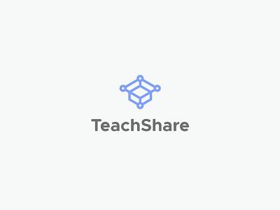 TeachShare share connection box teacher education logo