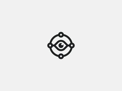 TeachShare round share connection teacher education circle eye logo