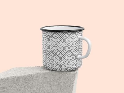 Enamel Mug Mockups Pack enamel mug concrete stone stock enamel cup mockup mug