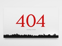 UI Daily, #008 – 404 page