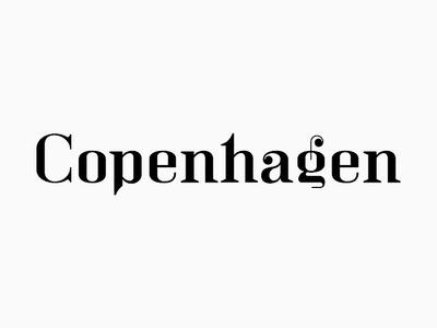 Copenhagen Bar club design identity logo bar