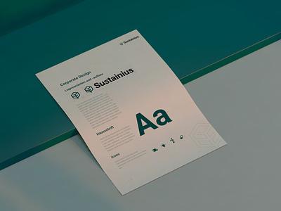 Brand design for Sustainius