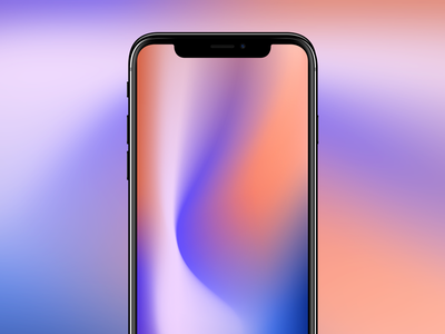 Wallpaper color iphonex lockscreen iphone wallpaper gradient