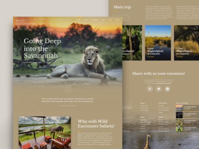Wild Encounter Safari