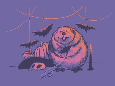 06 Rodent inktober2020 illustration