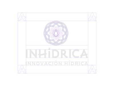 Inhidrica Structure visual identity branding