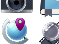 Vector Icons WIP stage 2