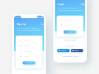 Login + Sign Up