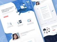 Design Academy Landing Page