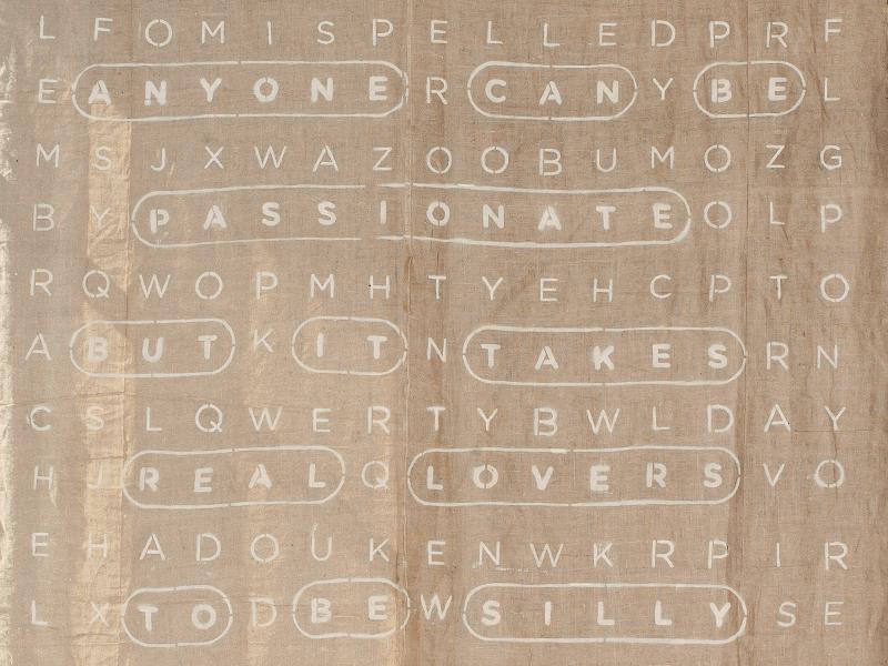 Burlap word search wedding word search burlap typography stencil