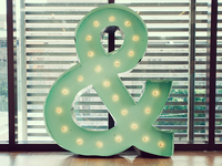 Marquee ampersand