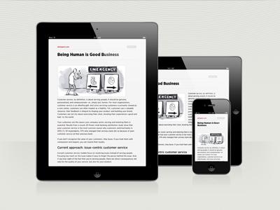 Readability + iOS readability ios iphone ipad teehanlax mobile