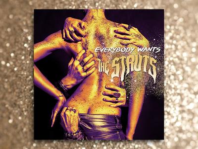 The Struts graphic design album cover design for music art direction