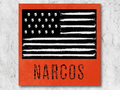 Narcos Style Guide style guide design art direction