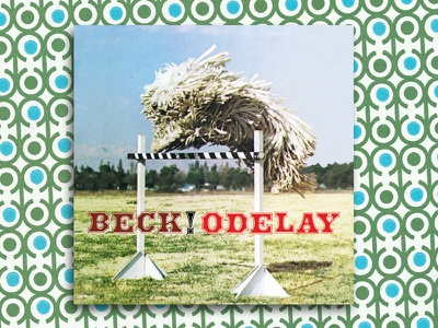 Beck Odelay graphic design album cover design for music art direction