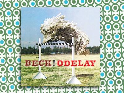 Beck Odelay graphic design album cover design for music art direction