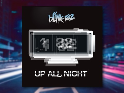 Blink 182 graphic design album cover design for music art direction