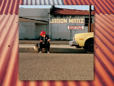 Jason Mraz Waiting for My Rocket to Come graphic design album cover design for music art direction