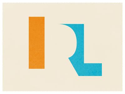 IRL Logo/Type design for music typography logo