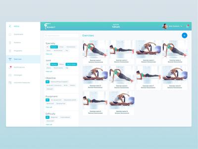 UI/UX design of admin site admin panel web design site ux ui