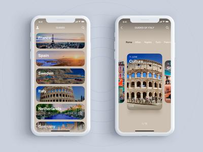Guides (app for iOS) ios photoediting design app ux ui